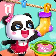 دانلود Baby Panda Gets Organized 8.33.00.01 - بازی آموزشی بچه پاندا برای اندروید