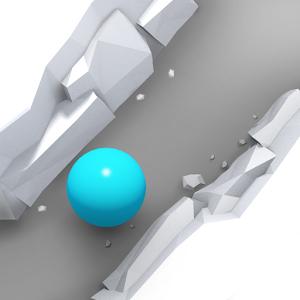 دانلود Blue Edge 1.0.1 - بازی جذاب تعادل توپ اندروید