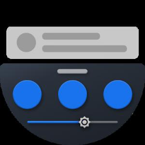 دانلود Bottom Quick Settings 6.1.5 - برنامه تنظیمات سریع دکمه ها اندروید