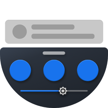 دانلود Bottom Quick Settings 6.0 - برنامه تنظیمات سریع دکمه ها اندروید