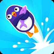 دانلود Bouncemasters 1.3.9 - بازی سرگرم کننده پرتاب پنگوئن اندروید
