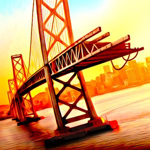 دانلود Bridge Construction Simulator 1.2.7 - بازی ساخت و ساز پل اندروید