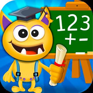 دانلود Buddy School: Basic Math learning for kids 3.4 - بازی آموزشی کودکانه اندروید