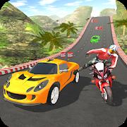 دانلود Car vs Bike Racing 1.3 - بازی مسابقات اتومبیل با دوچرخه اندروید