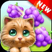 دانلود Cat Match Story Fruit City 5.1 - بازی پازلی رنگارنگ برای اندروید