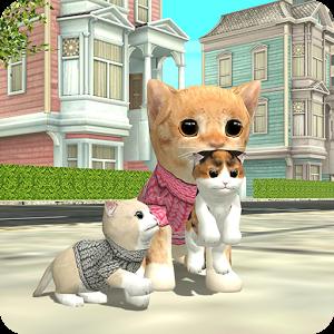 دانلود Cat Sim Online: Play with Cats 200 – بازی شبیه سازی زندگی گربه ها اندروید