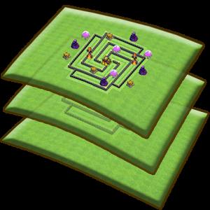 دانلود Clash Base Designer for COC 1.2.3 - برنامه طراحی مپ کلش برای اندروید