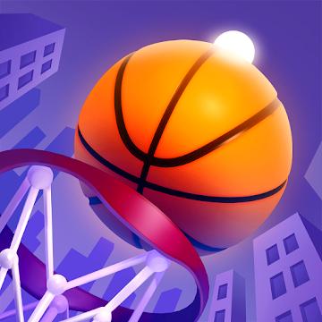 دانلود Color Dunk 3D v1.2.14 - بازی ورزشی بسکتبال برای اندروید