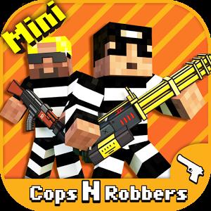 دانلود Cops N Robbers - FPS Mini Game 9.3.7 - بازی اکشن تفنگی برای اندروید