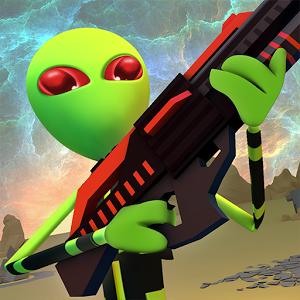دانلود Creepy Aliens Battle Simulator 3D v1.3 - بازی نبرد با موجودات فضایی اندروید