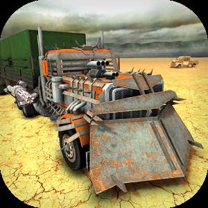دانلود Death Truck Hero - Apocalypse Road 1.11 - بازی اکشن جاده آخرالزمانی اندروید