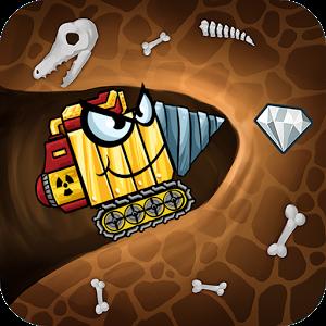 دانلود Digger Machine find minerals 2.7.6 - بازی ماشین حفاری اندروید