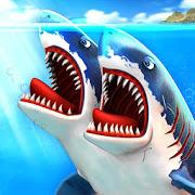 دانلود Double Head Shark Attack Multiplayer 4.7 - بازی نبرد کوسه ها برای اندروید