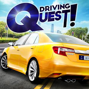 دانلود Driving Quest 1.0 - بازی جذاب رانندگی در شهر برای اندروید