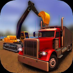 Extreme Trucks Simulator 1.3.1 - بازی ساخت و ساز با کامیون اندروید