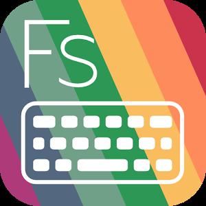 دانلود Flat Style Colored Keyboard Pro 3.5.0 - برنامه سفارشی سازی کیبورد اندروید
