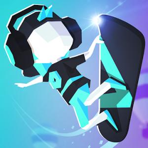 دانلود Flip : Surfing Colors 0.5.0 - بازی مسابقه ای اسکیت سواری اندروید