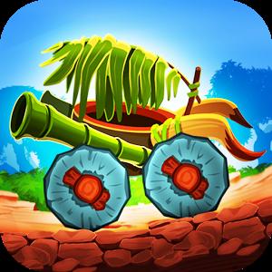 دانلود Fun Kid Racing Prehistoric Run 3.6 - بازی مسابقه ای اندروید