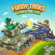 دانلود Funny Tanks 1.5 - بازی اکشن جالب برای اندروید
