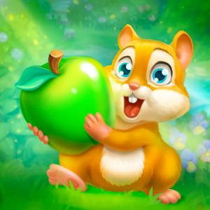دانلود Garden Pets: Match-3 Dog & Cat 1.35 - بازی پازلی باغ حیوانات خانگی اندروید