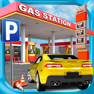 دانلود Gas Station Car Parking Game 1.3.1 - بازی پارکینگ پمپ بنزین اندروید