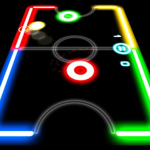 دانلود 1.3.9 Glow Hockey - بازی جذاب هاکی برای اندروید