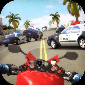 دانلود Highway Traffic Rider 1.7.8 - بازی موتور سواری در بزرگراه پرترافیک اندروید