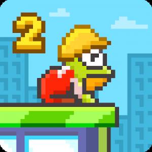دانلود Hoppy Frog 2 - City Escape 1.2.7 - بازی رقابتی هوپی قورباغه 2 اندروید