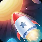 دانلود Idle Rocket 1.1.10 - بازی سرگرم کننده تکامل موشک اندروید