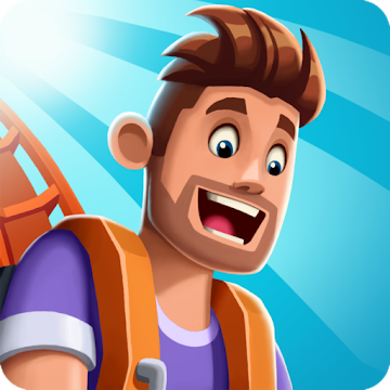 دانلود Idle Theme Park Tycoon - Recreation Game 2.2.0 - بازی جالب مدیریت شهر بازی اندروید