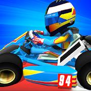 دانلود Kart Stars 1.9 - بازی مسابقه ای قهرمانان کارتینگ اندروید