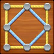 دانلود Line Puzzle: String Art 1.4.42 - بازی پازلی سرگرم کننده نقطه بازی اندروید