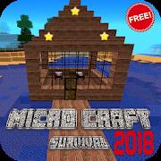 دانلود Micro Craft 2018: Survival Free 0.3.1 - بازی ماجراجویی پیکسلی اندروید