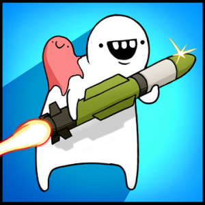 دانلود Missile Dude RPG: Tap Tap Missile v76 - بازی دوست موشکی اندروید