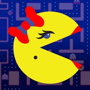 دانلود Ms. PAC-MAN by Namco 2.5.0 - بازی کم حجم خانم پک من اندروید