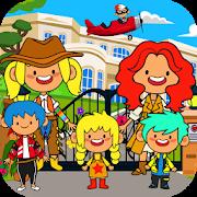 دانلود My Pretend Family Mansion - Big Friends Dollhouse 1.3 - بازی عمارت خانوادگی اندروید