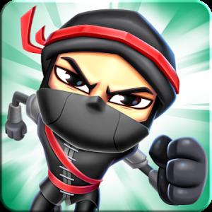 دانلود Ninja Race - Fun Run Multiplayer v1.05 - بازی مسابقات نینجاها اندروید