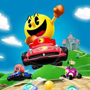 دانلود PAC-MAN Kart Rally by Namco 1.3.5 - بازی کم حجم رالی پک من اندروید