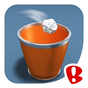 دانلود Paper Toss 2 v2.0.5 - بازی پرتاب کاغذ مچاله به سطل اندروید