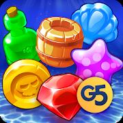 دانلود 1.12.1505 Pirates & Pearls: A Treasure Matching Puzzle – بازی پازلی اندروید
