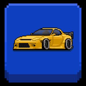 دانلود Pixel Car Racer 1.1.61 - بازی جذاب ماشین سواری پیکسلی اندروید