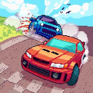 دانلود Pixel Drifters: Nitro 1.02 - بازی جذاب رانندگان پیکسلی اندروید