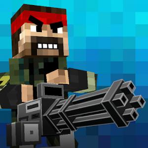 دانلود 7.7 Pixel Fury: Multiplayer in 3D - بازی اکشن جنگ پیکسلی اندروید