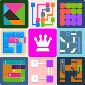 دانلود Puzzledom – classic puzzles all in one 7.9.94 - مجموعه بازیهای پازلی اندروید