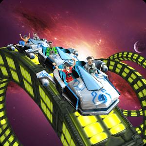 Roller Coaster Simulator Space 1.3 - بازی مهیج ترن هوایی اندروید + مود