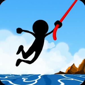 دانلود 2.3.5 Rope Pull : Extreme Swing - بازی بند باز اندروید