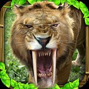 دانلود Sabertooth Tiger Simulator 1.2 - بازی شبیه ساز زندگی ببر اندروید