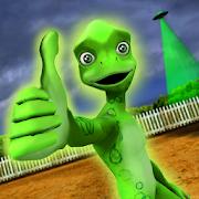 دانلود Scary Green Grandpa Alien 1.3 - بازی بیگانه سبز ترسناک اندروید