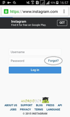 آموزش کامل بازیابی رمز عبور و پسورد در اینستاگرام + تصاویر