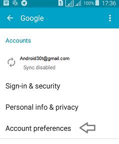آموزش حذف و تغییر اکانت جیمیل در گوشی اندروید + تصاویر